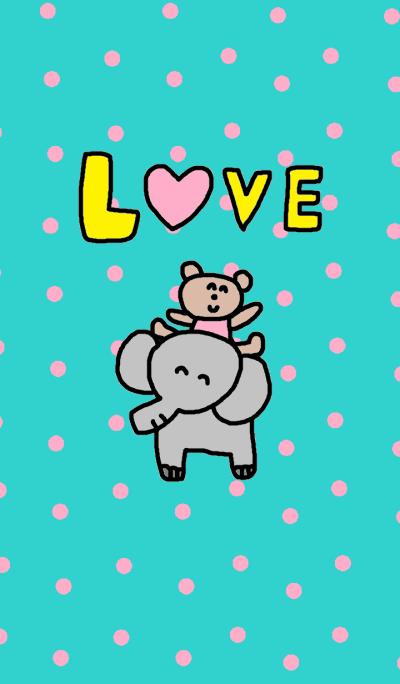 (Elephant & kumakosan)