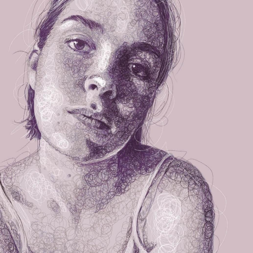15-Adah-Jennifer-Ackerman-Digital-Art-Scribble-Drawing-Portraits-www-designstack-co