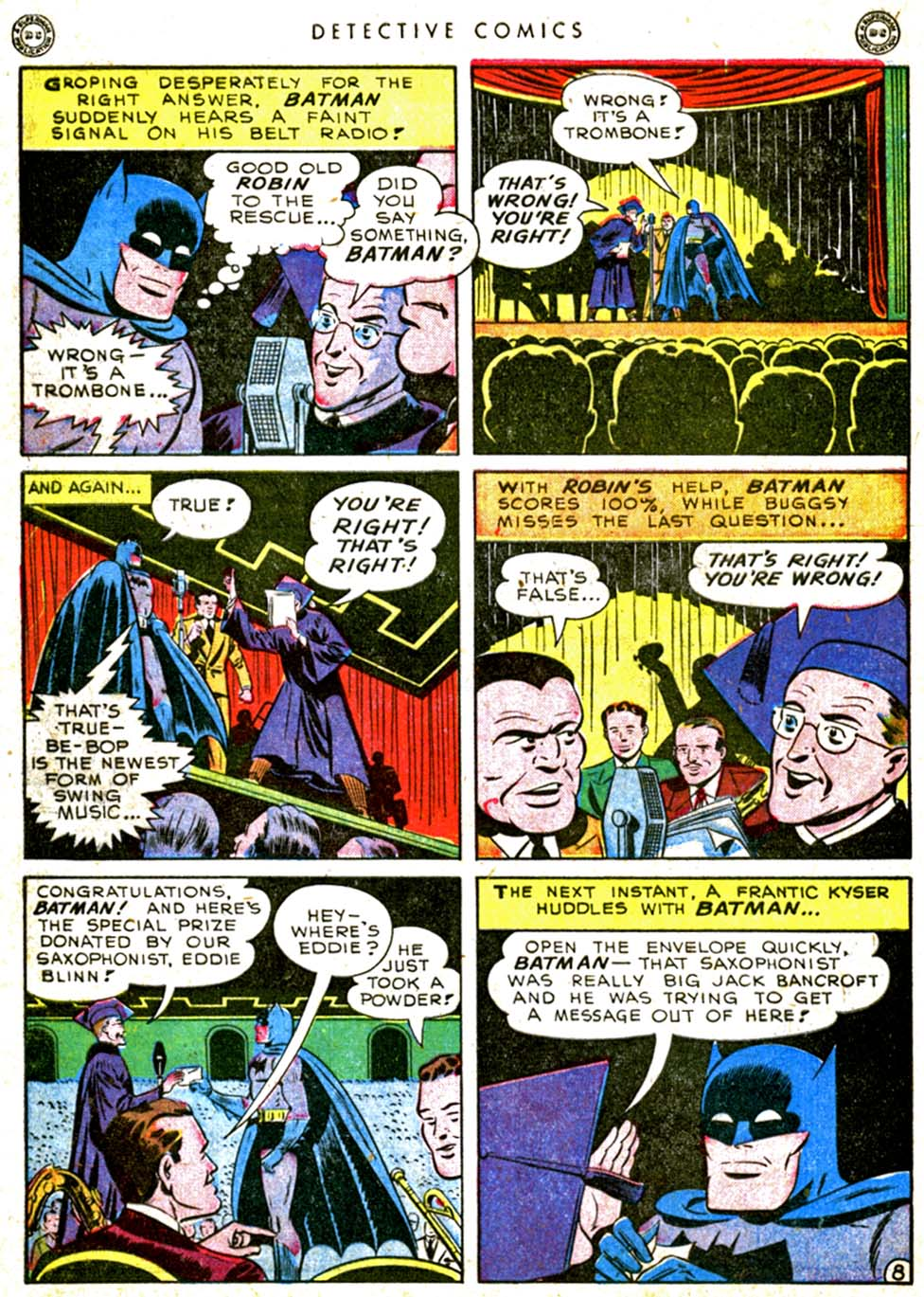 Read online Detective Comics (1937) comic -  Issue #144 - 10