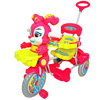 pink roy baby royal tricycle