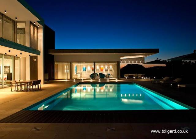 Sector de residencia contemporánea europea