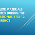 Complete materials presented during the 2nd National K to 12 Conference