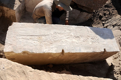 Barque station of Hatshepsut unearthed at Aswan island