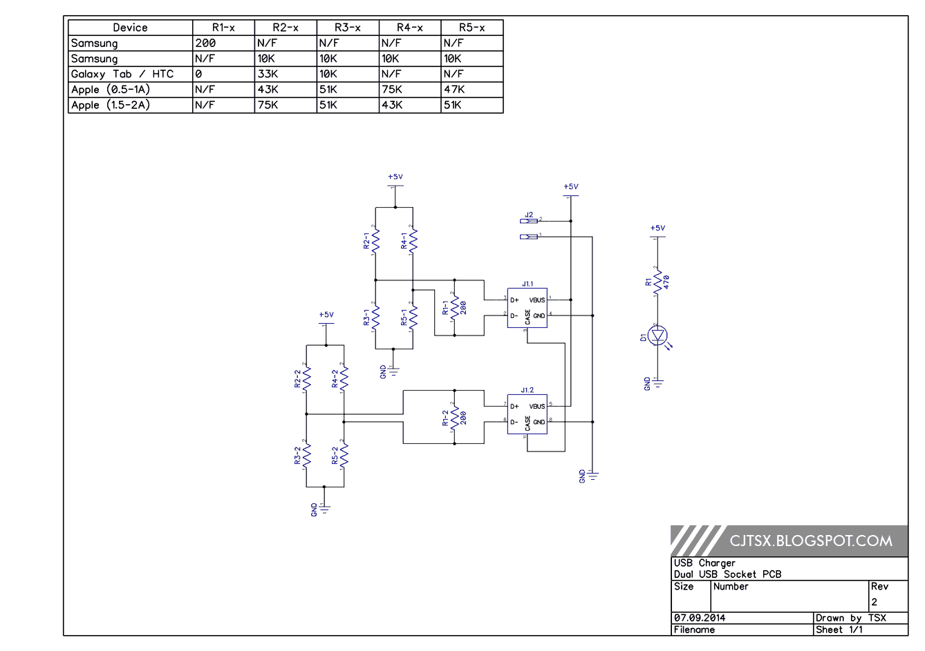 Digital Twilight: 3A USB device charger (LM2576) (Updated)