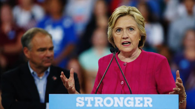 Hillary Clinton acusa a Rusia del ataque informático a los demócratas