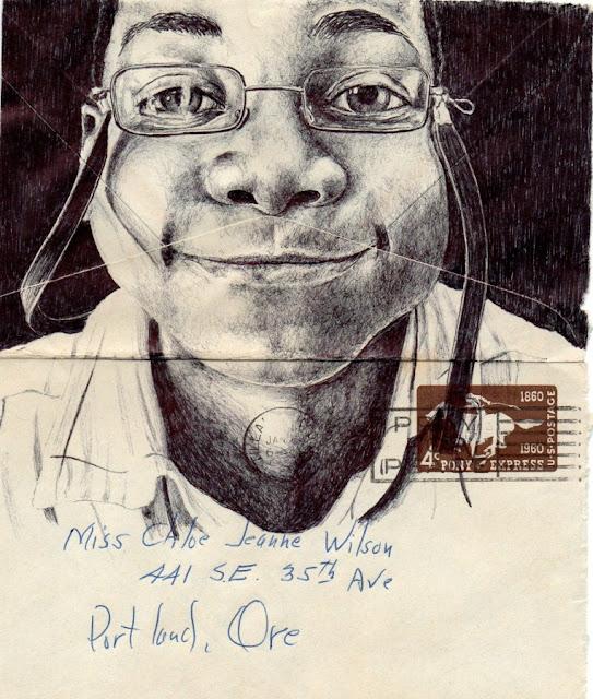 Реалистичные рисунки шариковыми ручками. Mark Powell 13