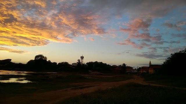 Fim de tarde em Chaval | Por Frank Carneiro