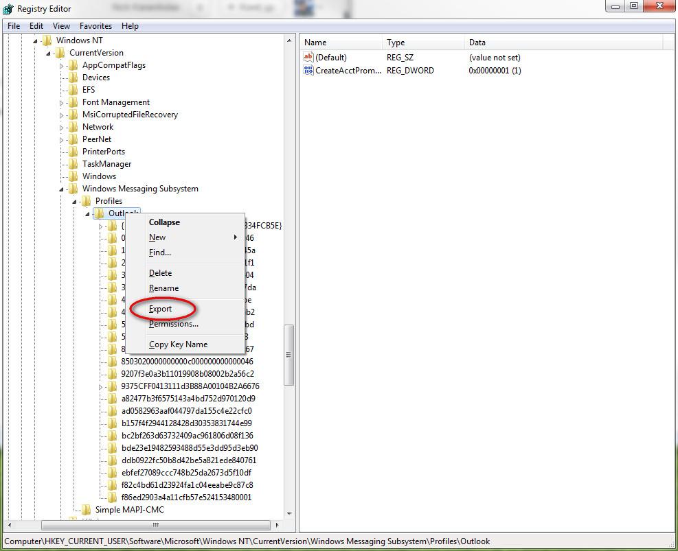 Backup και μεταφορα του Outlook  - karanik gr