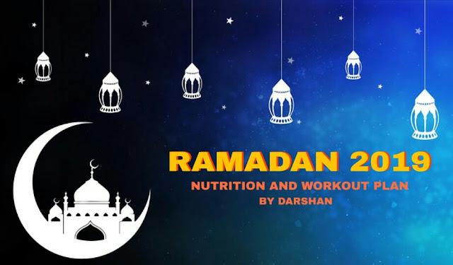 Diet in ramadan 2019