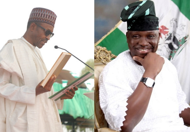 fayose insults buhari