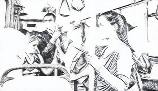 Short story in Hindi, लघु कहानी, लघु कहानी दबंग महिला