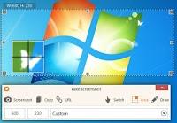 Salvare il desktop o un'area selezionata dello schermo come immagine