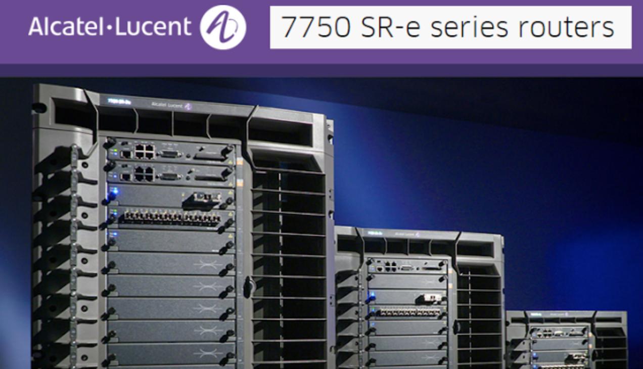 Alcatel Lucent Nokia 7750 Service Routers
