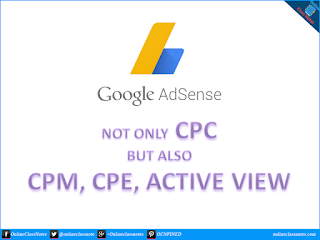 Adsense is not only a CPC network anymore, but also CPM, Active View CPM, CPE.