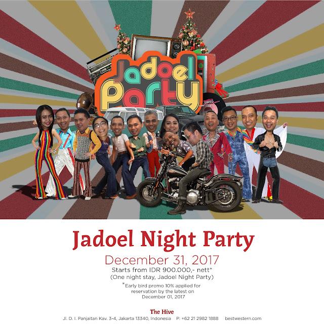 Kuis Jadoel Nigth Party // Twitter