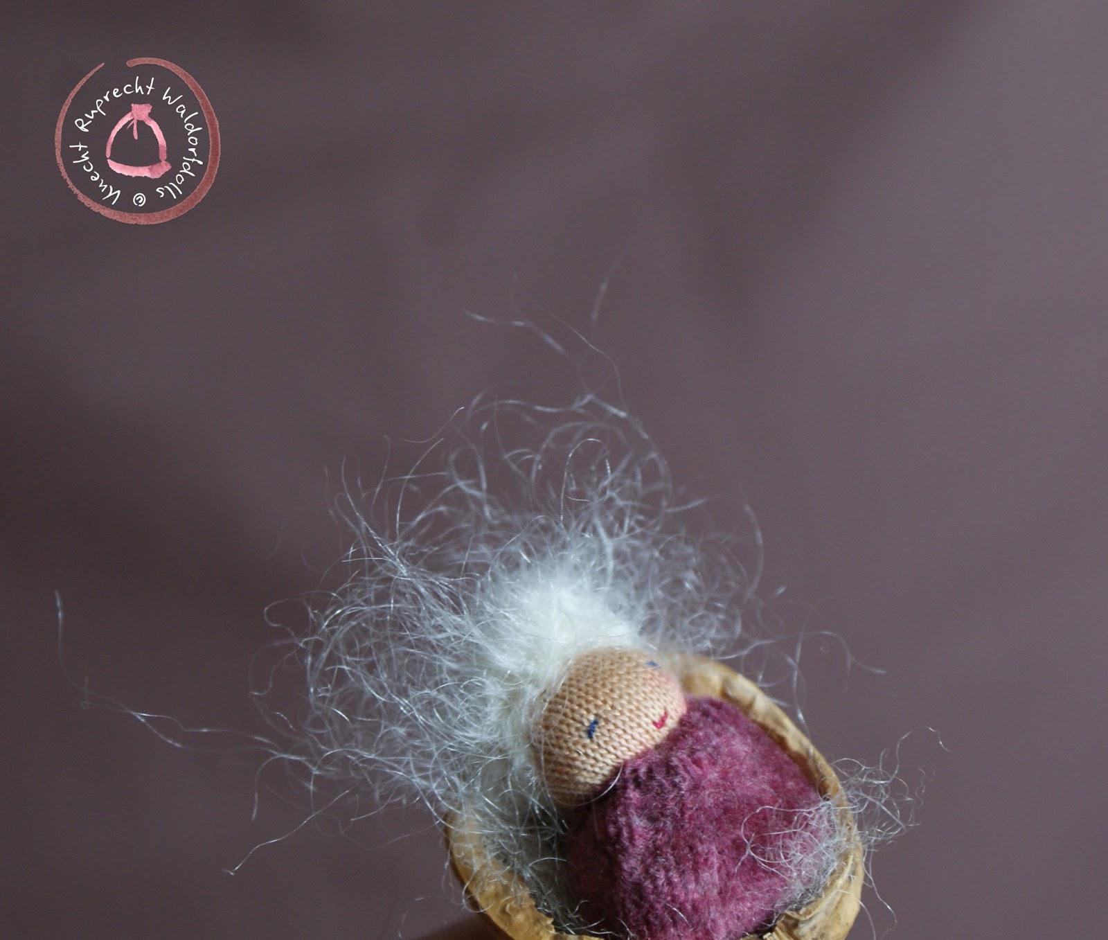 Waldorf Walnut Baby - Baby in a Nutshell - Walnut Baby