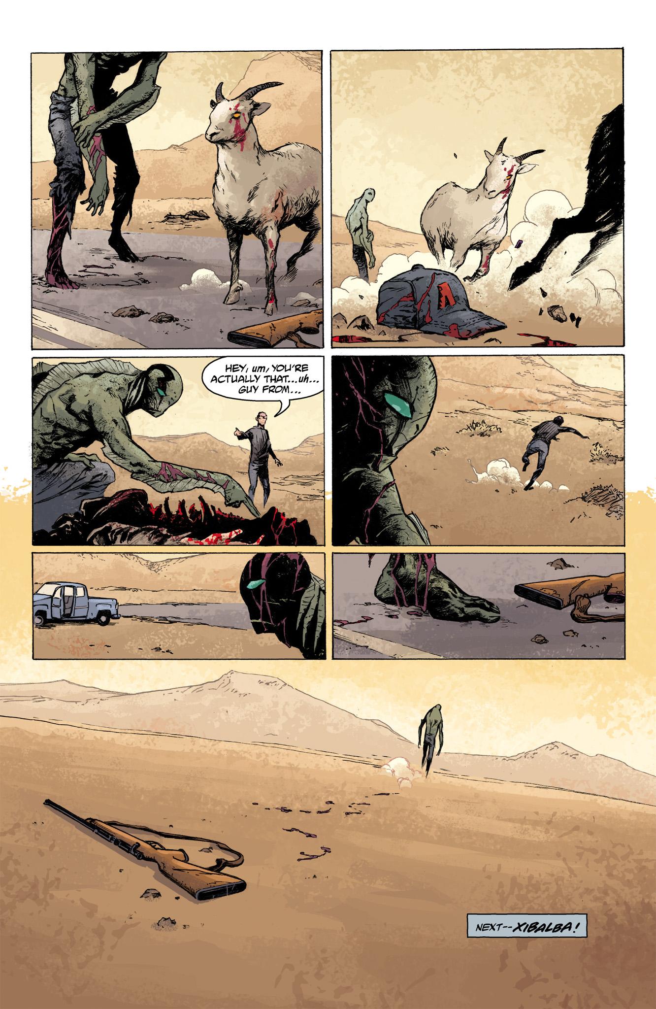 Read online Abe Sapien comic -  Issue #7 - 23