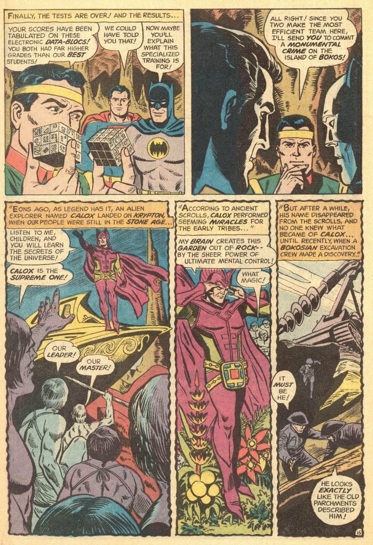 Read online World's Finest Comics comic -  Issue #191 - 18