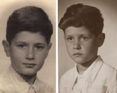 Javier Rodríguez Ibrán de niño