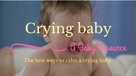 calm a crying baby