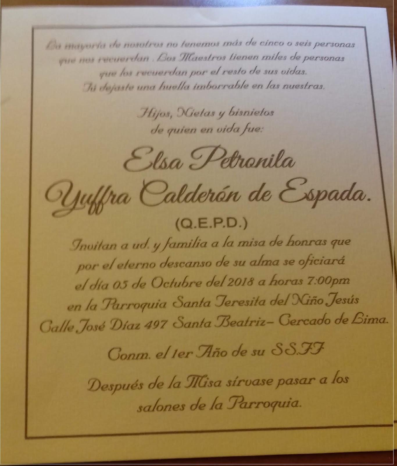 Asociación Coronadina Misa Conmemorando El 1º Año Del