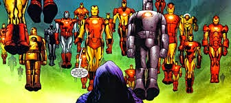 TOP 10 Armaduras Mais Poderosas do Iron Man ~ Art'in