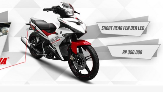 Harga Aksesoris Yamaha MX King Terbaru
