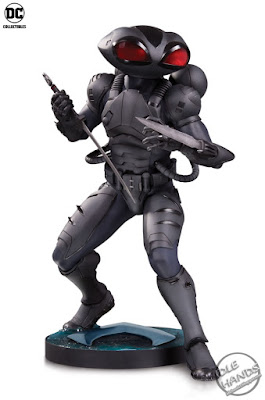 SDCC 2018 DC Collectibles Aquaman Movie Statue Black Manta