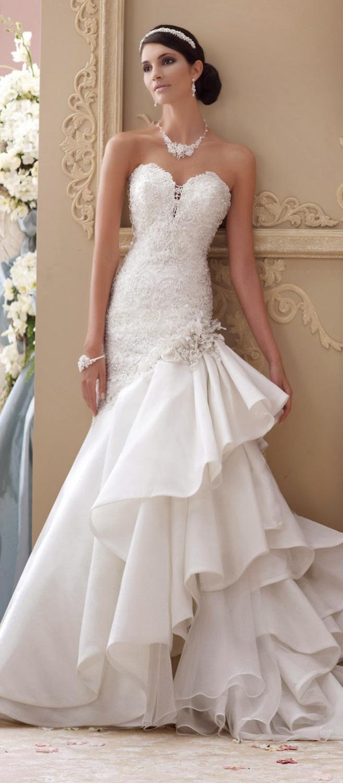 Nuevos modelos de vestidos de novia 2015