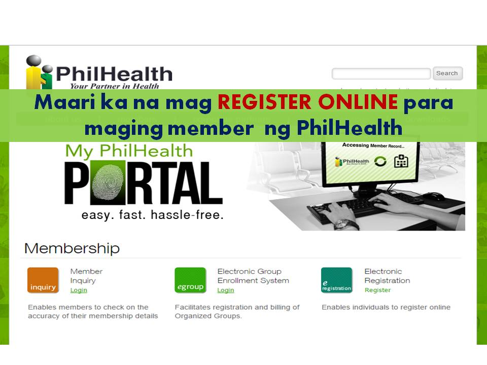 Philhealth Online Registration