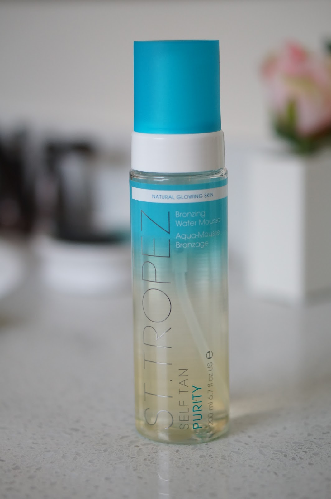 Popular North Carolina style blogger Rebecca Lately is reviewing the St. Tropez Purity Water Bronzing Mousse.  Click here to read about this awesome self tanner!