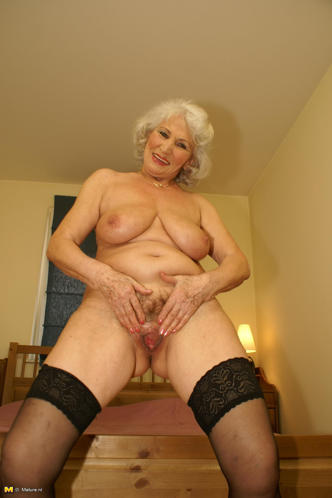 Granny solo porn remarkable