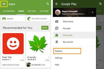 Tahap Keempat : Penerapan Redeem Code Ke Google Play Store
