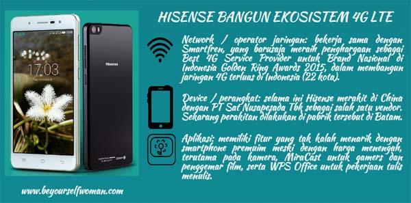 Hisense bangun ekosistem 4G LTE