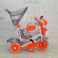 Tricycle Family F845DT Lebah Suspension