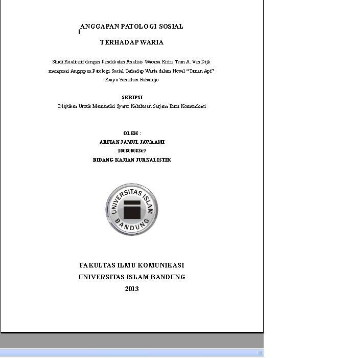 judul skripsi ilmu komunikasi kuantitatif