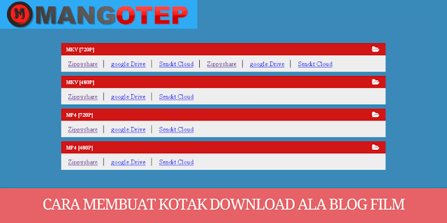 Cara Membuat Kotak Download Ala Blog Film