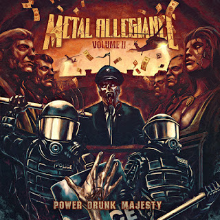 "Το βίντεο των Metal Allegiance για το ""Voodoo of the Godsend"" από το album ""Volume II - Power Drunk Majesty"""