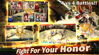 Game King's Raid V1.2.43 MOD Apk ( Hight Dagame / Unlimited Skill )