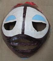 verna vogel papier-mache masks