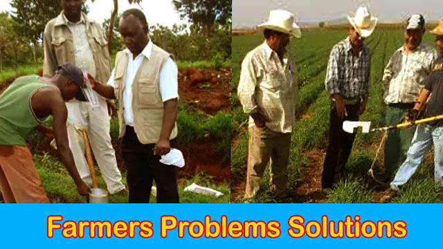 Farmers Problems solutions