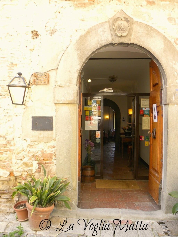 Taverna del Guerrino Montefioralle Chianti Toscana