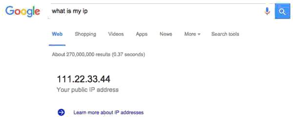 Cara Mengetahui IP Address (Alamat IP) Dengan Mudah
