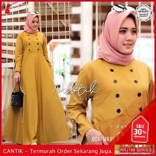 Jual RRJ199D192 Dress Quila Coat Wanita Maxy Wd Terbaru BMGShop