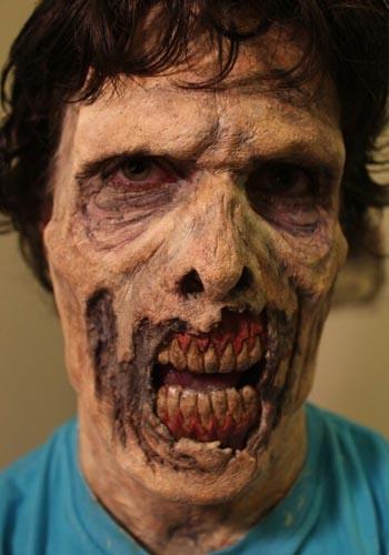 maquiagem zumbi masculina