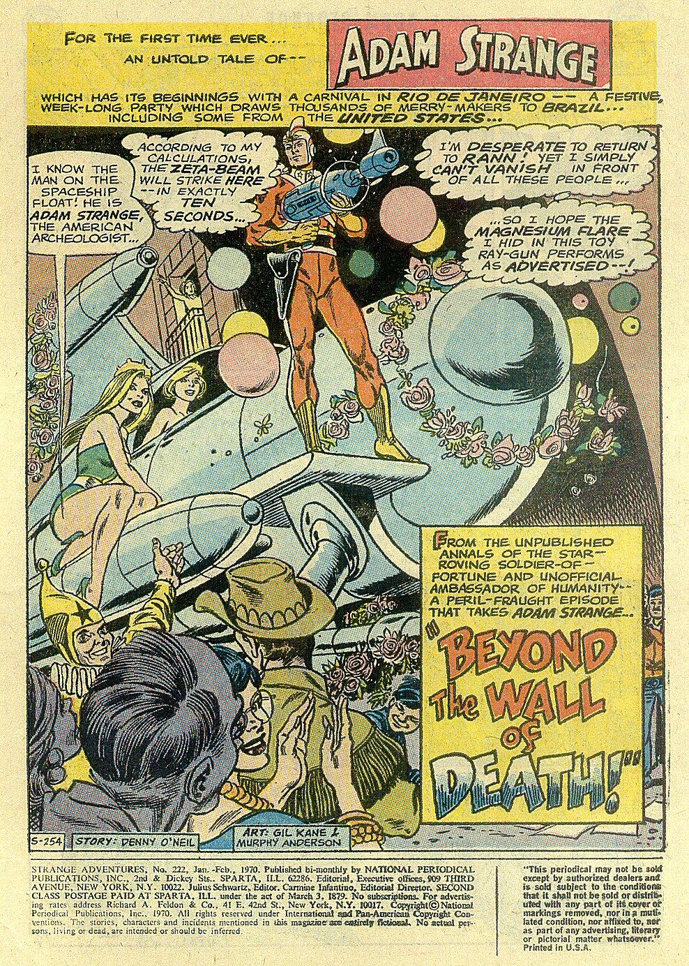 Strange Adventures (1950) issue 222 - Page 3