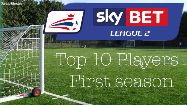 Top 10 Sky Bet League 2 Players (Post Winter Update) FM 2016