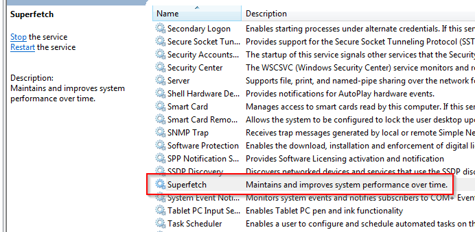 wtf is superfetch