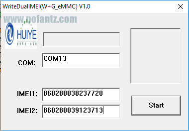 Tutorial Permanent Write Imei Andromax A (A16C3H) via PC