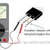 Cara Menguji SCR dengan Multimeter Analog
